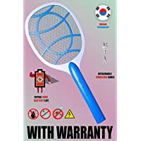 HNC Wide Range Mosquito Killer Racket Bat with Powerful Battery and One Year Warranty