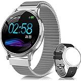 NAIXUES Smartwatch, Reloj Inteligente IP67 Pulsera Actividad Inteligente con Pulsómetro, Monitor de Sueño, Podómetro, Caloría