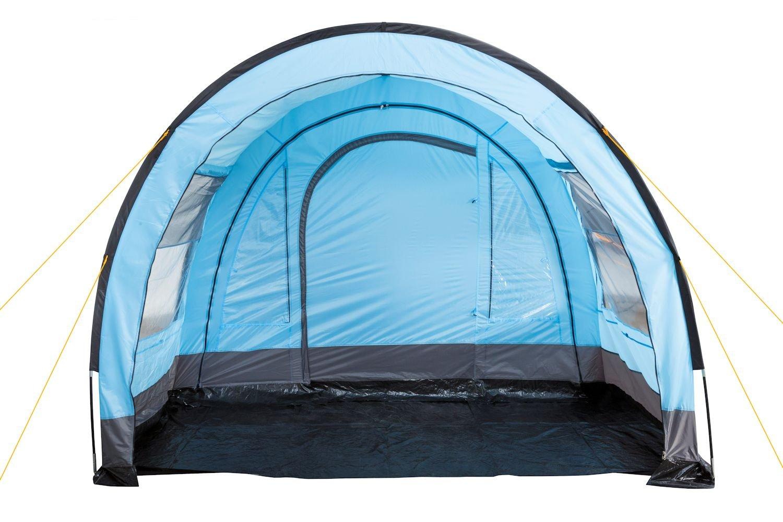 Trespass 4 Man Blue Tunnel Tent A