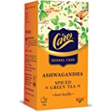 Care Ashwagandha Spiced Green Tea for Weight Loss & Build Immunity | Detox Desi Kahwa Green Tea with Herbs Like Cinnamon…