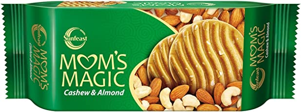 Sunfeast Mom's Magic Cashew and Almonds, 200 g