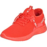 Mens Trainers Lace Up Breathable Mesh Upper Trail Runners Chunky Outsole Ceaze