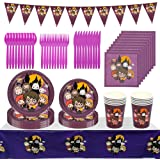 Harry Potter Feste Tema Magico Set, Harry Potter Tavola Feste Compleanno Set Decorazioni Party Tableware Kit Festa Birthday S