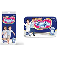 MamyPoko Pants Extra Absorb Diapers, XXXL (Pack of 7) & XXX-Large (24 Count)