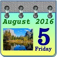 Beauty Nature Calendar