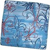 Gigli Firenze foulard artistico esclusivo pura seta 70x70cm made in Italy. Riproduce contratti irregolari su fondo pennellato
