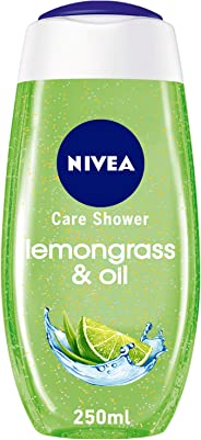 NIVEA, Shower Gel, Fresh Feeling, Lemongrass & Oil, 250ml