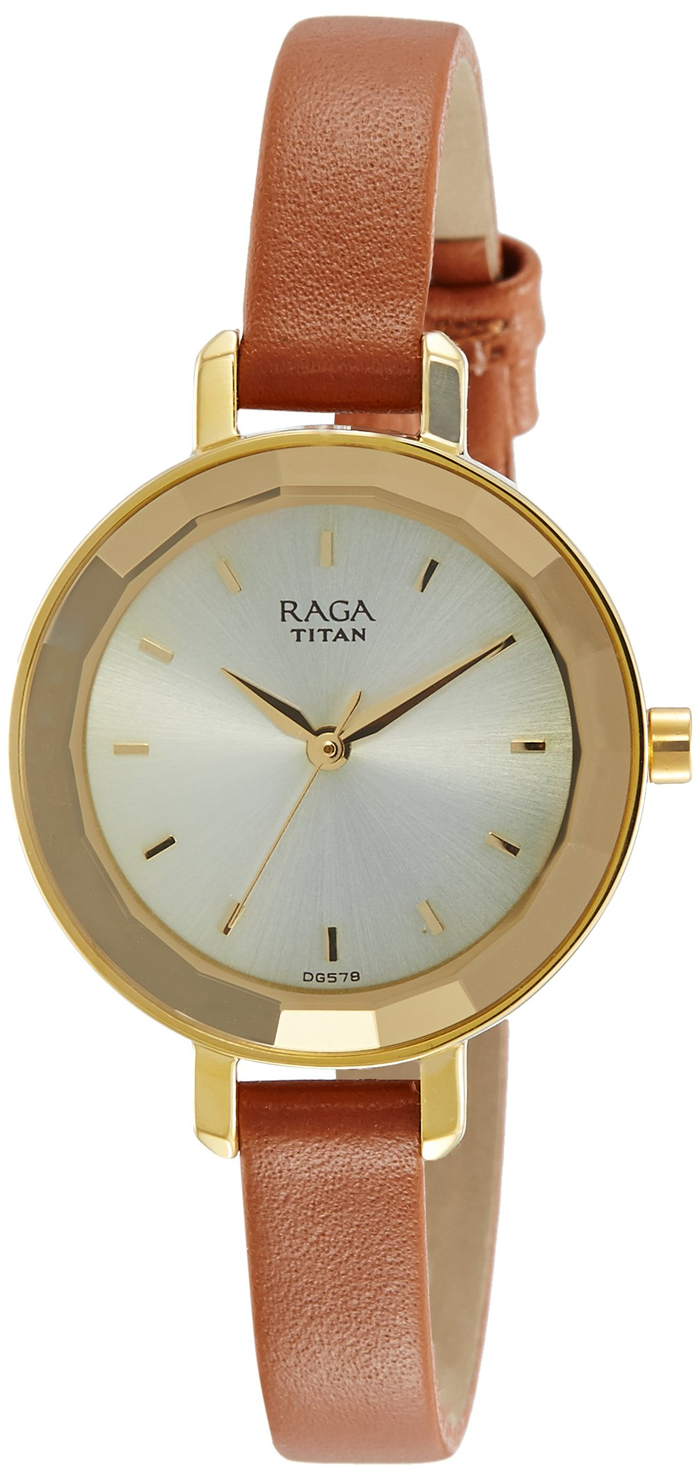 Titan Raga Viva Analog Beige Dial Women's Wrist Watch