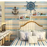 Homeme Wood Wallpaper Vintage Peel and Stick Wallpaper Self Adhesive Contact Paper with PVC Waterproof Oil-Proof Removable fo