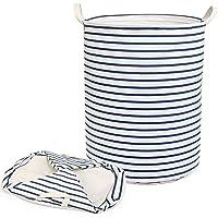 NEWSTYLE Pliable Panier à Linge,Grand Organiser Paniers pour Vêtements Stockage de Jouets Household Organisateur (Bleu…