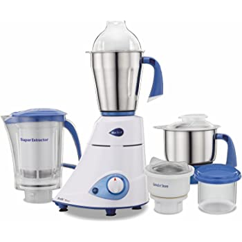 Preethi Blue Leaf Platinum MG 139 750-Watt Mixer Grinder