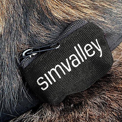 simvalley MOBILE Zubehör zu GPS-Tracker mit SIM: Hundehalsband 20-40 cm für GPS-/GSM-Tracker GT-340 (GPS Tracker SMS)