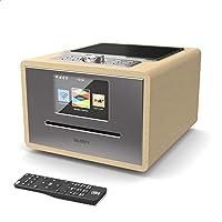 Majority Homerton Internetradio, WiFi/WLAN Radio, DAB/DAB+ / UKW, Bluetooth, CD-Player, Fernbedienung, Doppelwecker, AUX…