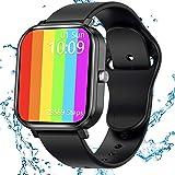 JAMSWALL Smartwatch, Orologio Fitness Tracker Donna Uomo Smart Watch da 1,75 pollici, Activity Tracker Contapassi Calorie Car