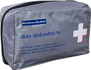 Kfz Verbandtasche Auto Verbandkasten Mit Malteser Anwendungsbroschüre Din 13164 Grau Drogerie Körperpflege