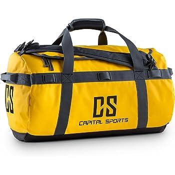 Capital Sports Travel S Bolsa de deporte 45l (Tejido impermeable, compartimento apertura forma D, fácil llenado, material robusto, asa y correas, ...