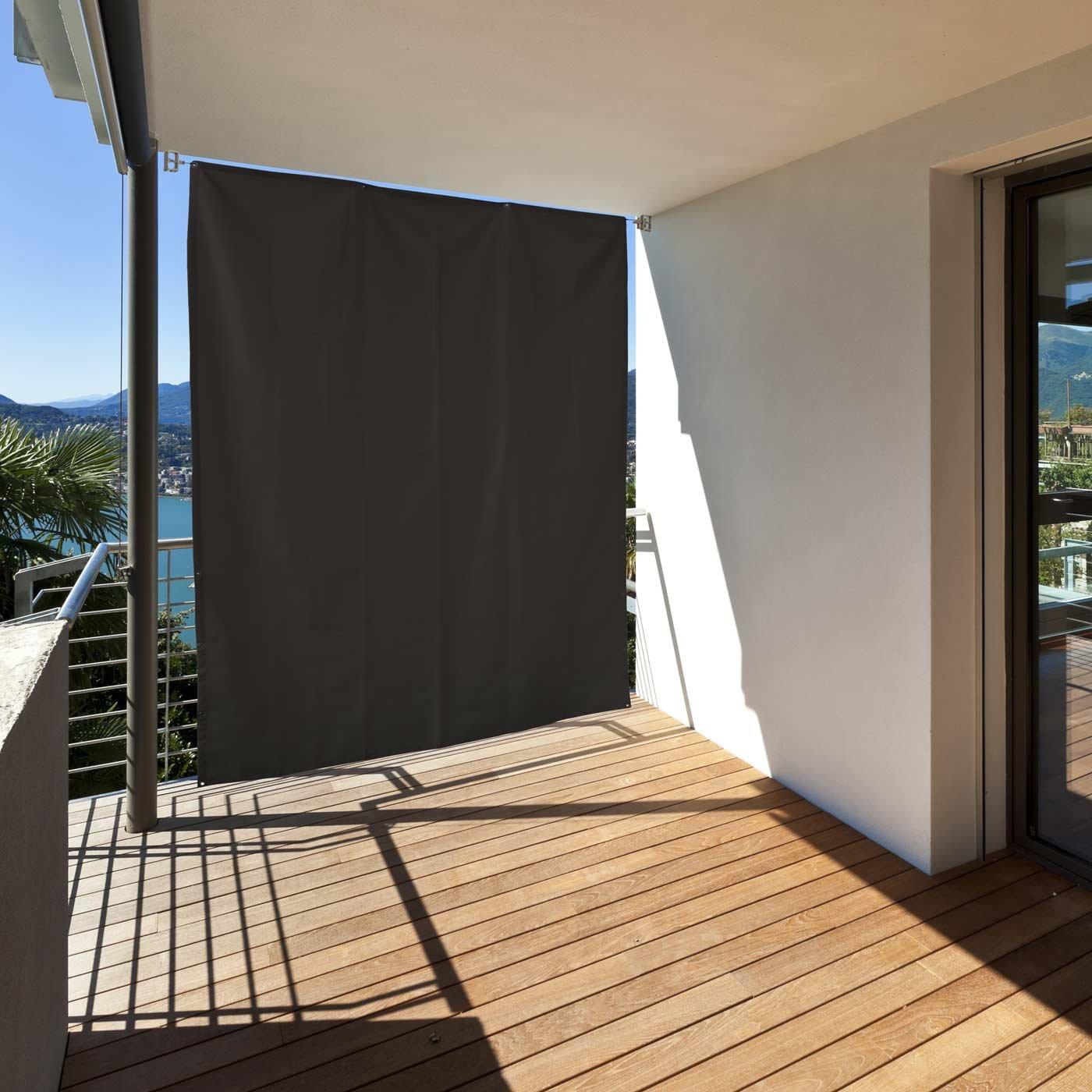 Amazon Balkon Sichtschutz vertikal Balkonsichtschutz zum