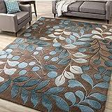DAIDAIDT Abstract Flower Art Carpet For Living Room Bedroom Anti-Slip Large Carpet Floor Mat Fashion Kitchen Rugs