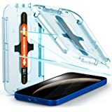 Spigen Tempered Glass Screen Protector [Glas.tR EZ Fit] designed for iPhone 12 (2020) / iPhone 12 Pro (2020) [Case Friendly]