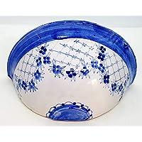 Vaso Da Muro Svuotatasche Ceramica Realizzato e Dipinto a Mano Le Ceramiche del Castello Nina Palomba Pezzo Unico…