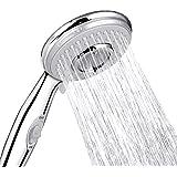 ACGAM Soffione doccia universale ad alta pressione con 5 modalità di risparmio idrico e pulsante interruttore soffione…
