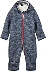 NAME IT Baby Mädchen/Jungen Softshell-Overall, Anzug Beta in Dress Blues