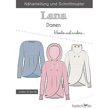 Schnittmuster Fadenkäfer Kleid Nike - Erwachsene in den Größen 32 ...