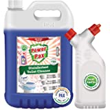 PaxChem PowerPax Disinfectant Toilet Cleaner (Original) 5L combo with Refillable and Reusable Twin Neck Bottle