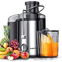 EASEHOLD Centrifugeuse Fruits et Légumes 600W(max 800W) Extracteur de Jus Electrique 2 Vitesses en Acier Inoxydable avec…
