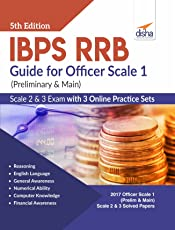 IBPS RRB Guide for Officer Scale 1 (Preliminary & Main), 2 & 3 Exam with 3 Online Practice Sets