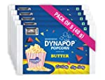 Dynapop Microwave Popcorn Butter Flavour 40gm (Pack of 5)