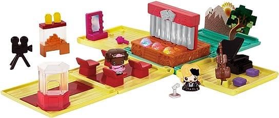 Mattel DXD61 - MyMiniMixieQs Theater Spielset, Minipuppen-Zubehör