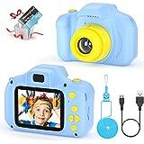 Camara Fotos Infantil Juguete para Niños Cámara Digital para Niños pequeños 2 Inch HD Pantalla with Calidad 32GB TF Tarjeta R