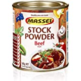 Massel, Stock Powder - No MSG, Gluten-Free, Beef Flavour - 168 grams, Pack of 6 Canned Soup Stock