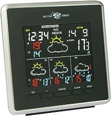 Technoline WD 4026 Wetterdirekt - Wetterstation mit LED-Anzeige,Innen und Außentemperaturanzeige, sowie Wettervorhersage für 4 Tage