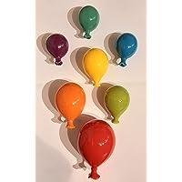 Palloncino in ceramica da appendere al muro, fatto a mano, artigianato, decorazione da parete, ideali per bomboniere