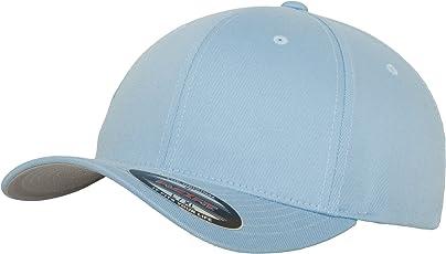 Flexfit Wooly Combed - 6 Panel Unisex Baseball Cap in 28 Farben, für Erwachsene und Kinder