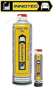 Innotec High Tef Oil Teflonöl Schmieröl Auf Ptfe Basis 75ml Sprühdose Auto