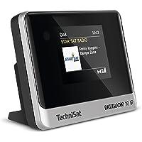 TechniSat DIGITRADIO 10 IR - DAB+ und Internetradio Adapter (WLAN, Farb-Display, Bluetooth, Fernbedienung, Wecker, mit…
