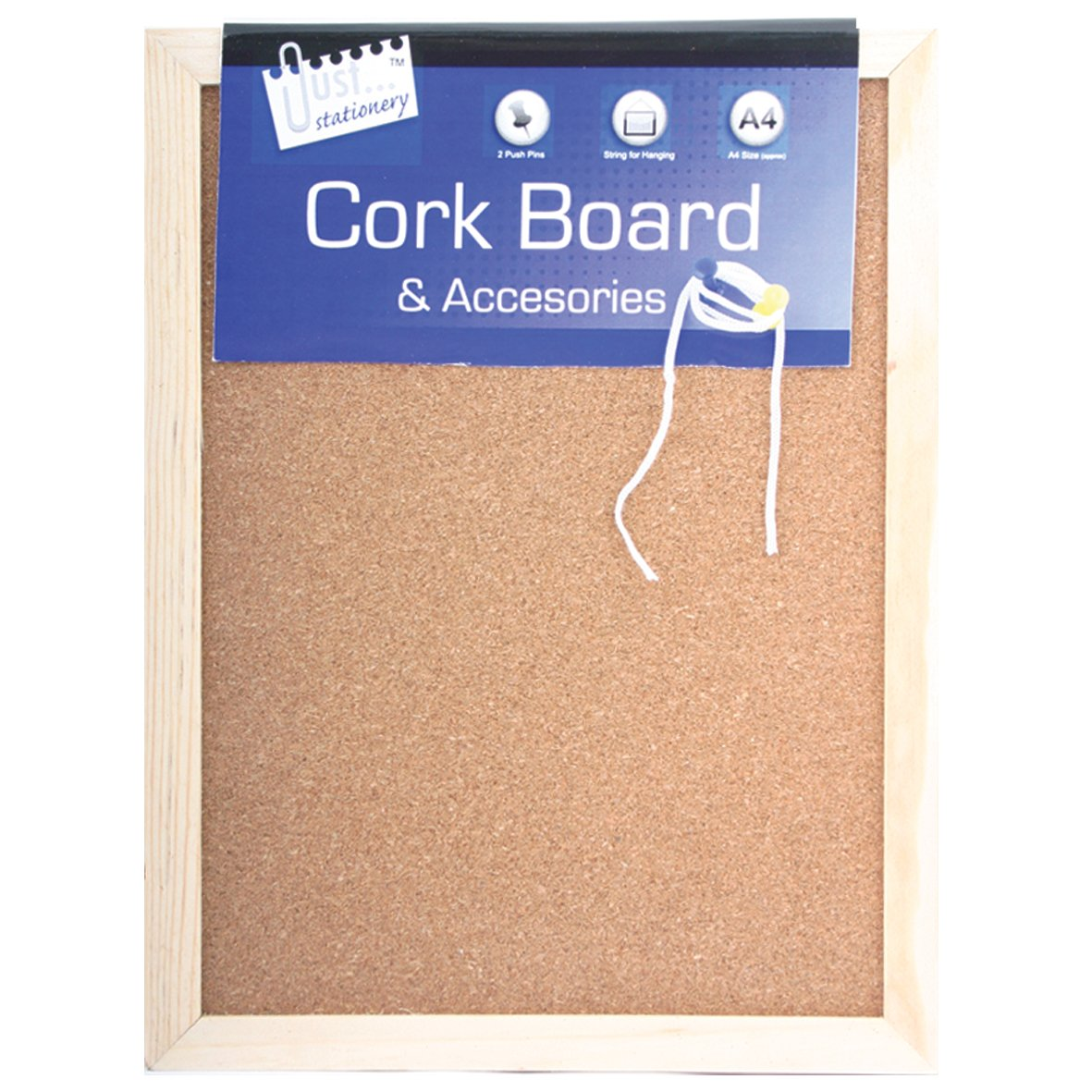 Tallon Just Stationery 285x215mm Cork Board: Amazon.co.uk: Office Products