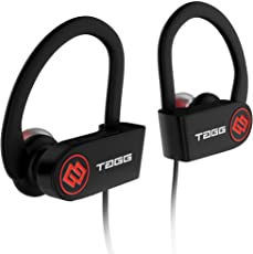 Tagg Inferno, Wireless Bluetooth Earphone With Mic + Carry Case (Black)