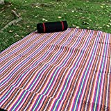 Wairi Outdoor Foldable Camping Picnic Blanket Picnic Rug Outdoor double large thick waterproof waterproof beach tents,A