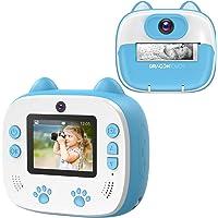 Appareil Photo Enfants à Impression, Dragon Touch Caméra Jouet Numérique avec Double Objectif,Papier d'impression…