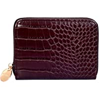 Lino Perros Womens Brown Synthetic Leather Wallet