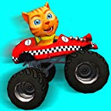 Cat Race Car Extreme Driving (Free)