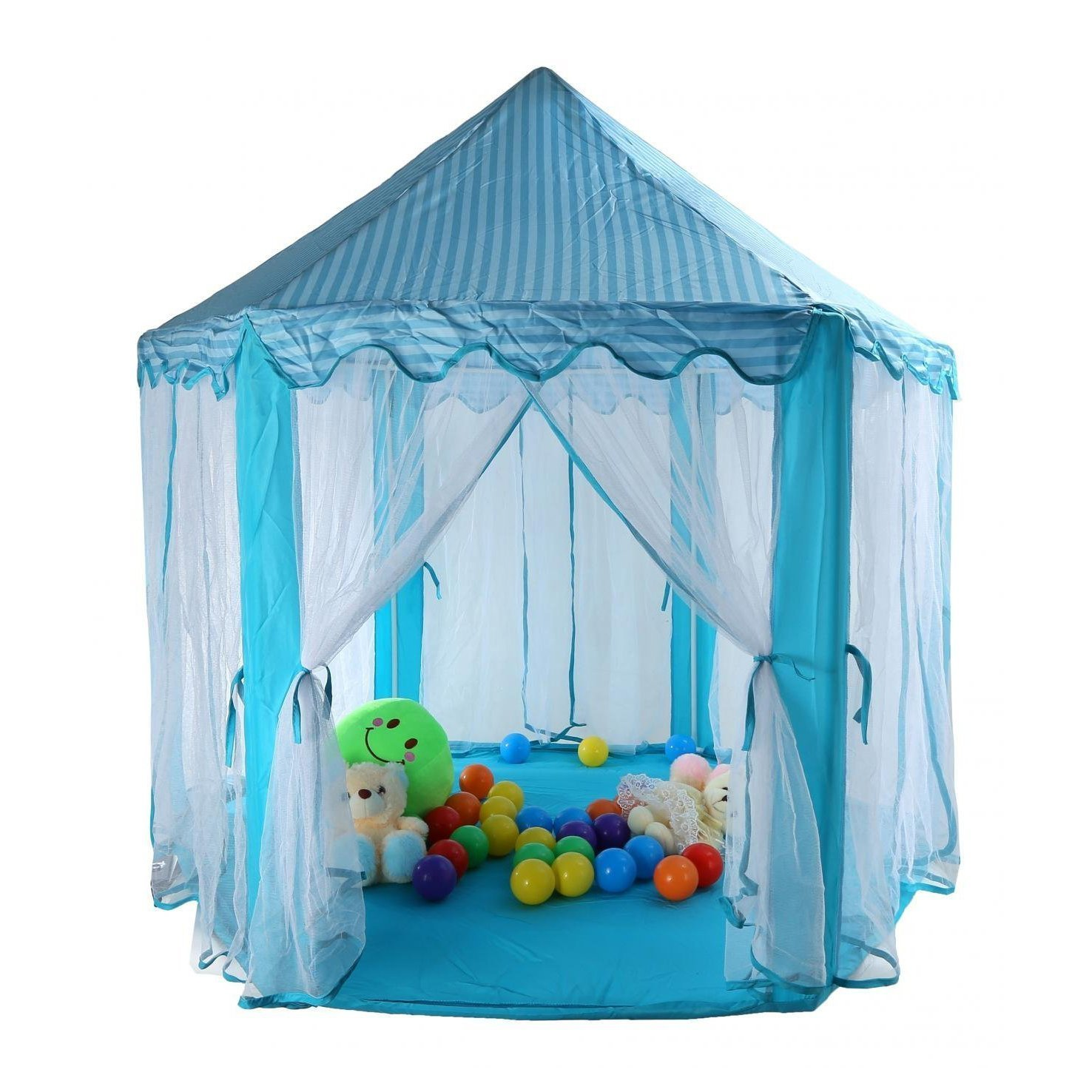 outdoor indoor princess castle play tents garden large playhouse kids baby room ebay. Black Bedroom Furniture Sets. Home Design Ideas
