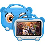 Tablet Para Niños 7 Pulgadas Tablet Infantil Android 10.0 Quad-Core Processor, 16GB ROM 128GB Expansión, HD Pantalla1024*600