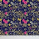 Soimoi Blumendruck reine Seide Stoff für das Nähen