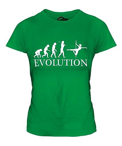 CandyMix Poledance Evolution Des Menschen Damen T Shirt: Amazon.de:  Bekleidung