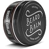 """""""TESTVINNARE 1.1 - Charlemagne Beard Balm - 100% naturlig skäggbalsam män - Skäggkräm Skäggbalsam för daglig skäggvård och sk"""